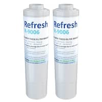 Replacement Water Filter For KitchenAid 4396395 Refrigerator Water Filter - by Refresh (2 Pack)