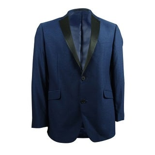 Kenneth Cole Reaction Men's Slim-Fit Electric Blue Evening Jacket (42R, Blue) - 42r