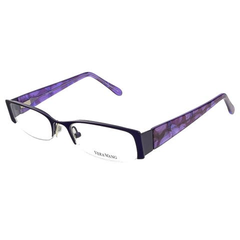 24c46b152c Vera Wang V 045 IR 48 Iris Full Rim Womens Optical Frame - 48-18