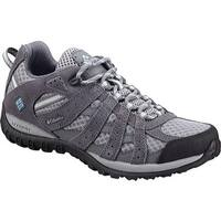 Columbia Women's Redmond Low Hiking Shoe Boulder/Sky Blue