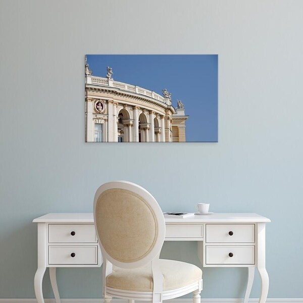 Easy Art Prints Cindy Miller Hopkins's 'Historic Odessa Opera House & Theater' Premium Canvas Art