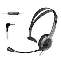 Panasonic KX-TCA430 Telephone Headset Noise Cancelation Mic Volume Control