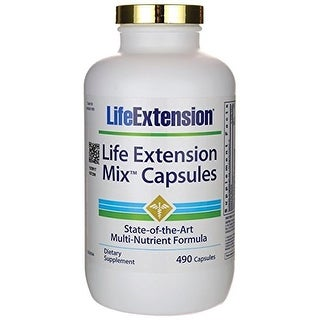 Life Extension Mix Capsules Life Extension 490 Caps