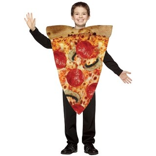 Pizza Kids Medium Halloween Costume 7-10 - medium (size 7-10)