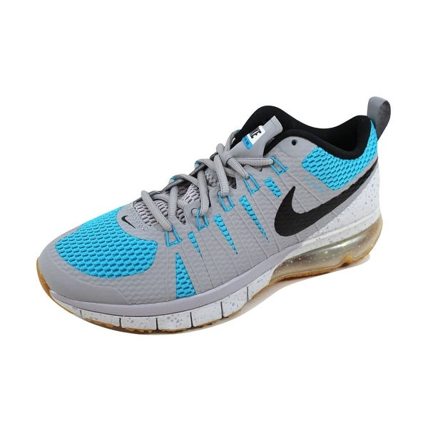 5383308c8c7f Shop Nike Men s Air Max TR180 Wolf Grey Black-Blue Lagoon-Pure ...