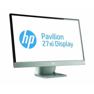 "HP Pavilion 27xi 27"" IPS Edge-to-edge panel LED LCD Monitor - VGA, DVI-D, HDMI"