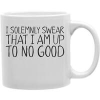 I Solemnly Swear That I Am Up To No Good 11 oz Ceramic Coffee Mug
