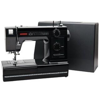 "Janome HD1000 Black Edition Sewing Machine with Bonus Accessories - 15"" x 9"" x 18"""
