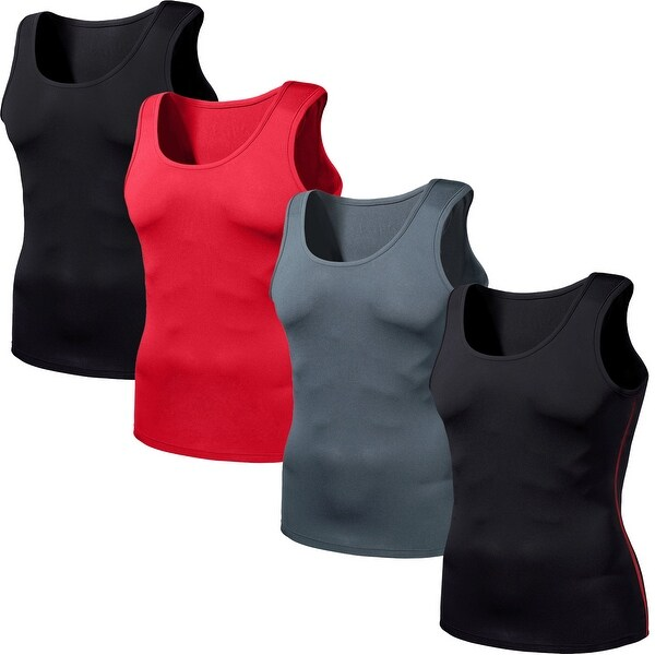 281c848f76 Shop Tesla N15 Cool Dry UPF-50 Antibacterial Sleeveless Compression Muscle  Tank Top - Free Shipping On Orders Over $45 - Overstock - 16078224