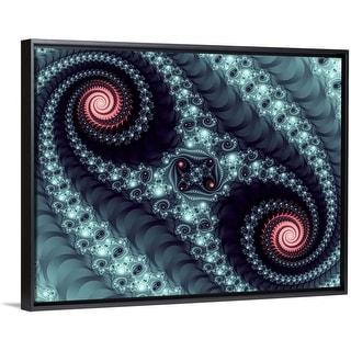 Mandelbrot fractal. Computer-generated image derived from a Mandelbrot Set. - Multi