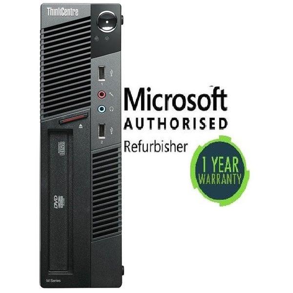 Refurbished Lenovo M90 SFF intel i5(650) 8GB 120GB SSD DVD W10P WiFi