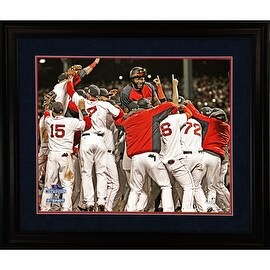 Boston Red Sox 2013 World Series Champs Celebration 8x10 Framed Photo w/Nameplate ()