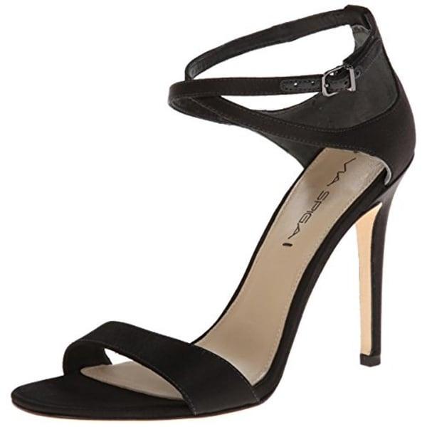 464f9dce533 Shop Via Spiga Womens Tiara Evening Sandals Satin Heels - Free ...