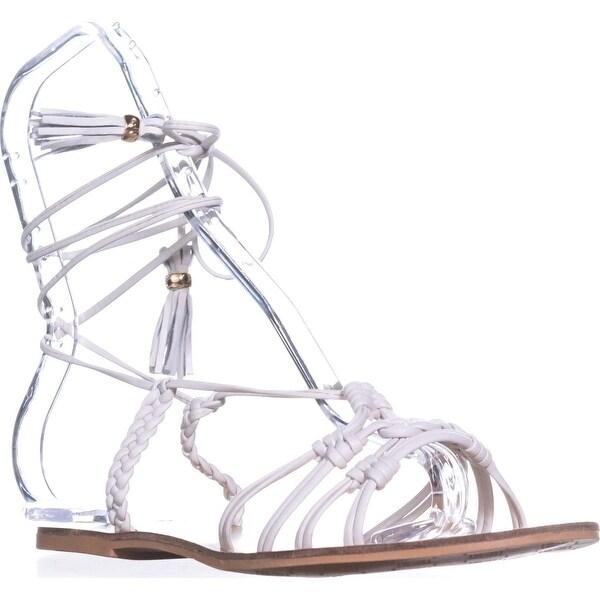 Nanette Lepore June Gladiator Sandals, Ice