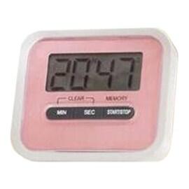 Digital Kitchen Timer Count Down Up Magnetic pink