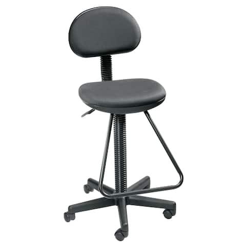 Alvin dc204 black economy drafting height chair