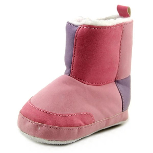 Luvable Friends Pinky   Round Toe Synthetic  Bootie
