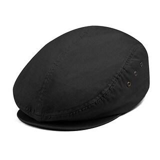 Ivy Washed Canvas Newsboy Hat Cap