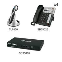 AT&T SB35010 +4 SB35025 +1 TL7800 Syn 248 SB35010 W 4 Multi-Line Desksets