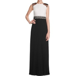 Kay Unger Womens Formal Dress Chiffon Embroidered