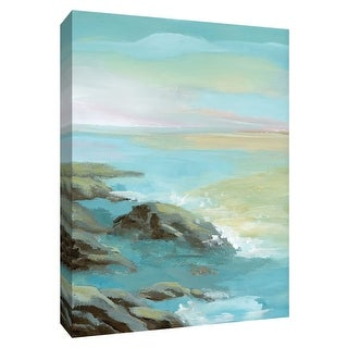 "PTM Images 9-148594  PTM Canvas Collection 10"" x 8"" - ""Rocky Shore"" Giclee Beaches Art Print on Canvas"