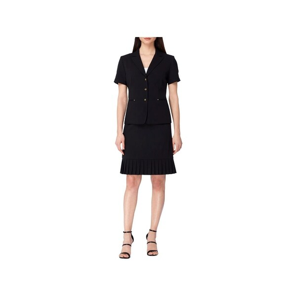 Tahari ASL Womens Skirt Suit Professional Business Attire