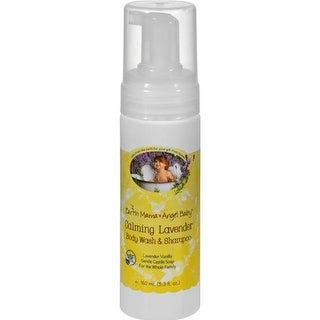 Earth Mama Angel Baby - Shampoo & Body Wash - Lavender ( 3 - 5.3 FZ)