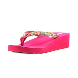 Reef Little Krystal Star Luxe Toddler Open Toe Synthetic Thong Sandal