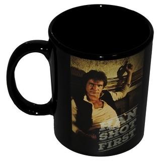 "Star Wars Han Solo ""Han Shot First"" Coffee Mug - Multi"