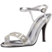 Caparros Womens Vogue Open Toe Ankle Wrap Classic Pumps