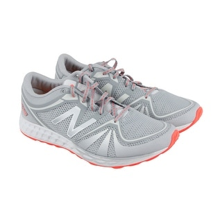 New Balance 822V2 Womens Silver Mesh Athletic Lace Up Running Shoes