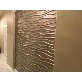 3d contemporary wall panels faktum design set of 6 for Overstock free returns