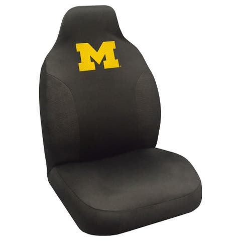 University of Michigan Embroidered Seat Cover