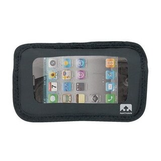 Nathan Hydration 2014/15 Fusion Series Hydration/Nutrition Belt Add-On Weather-Resistant Phone Pocket - Black