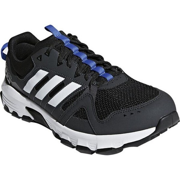 Shop adidas Men s Rockadia Trail Running Shoe Carbon White Hi-Res ... 5640b709b