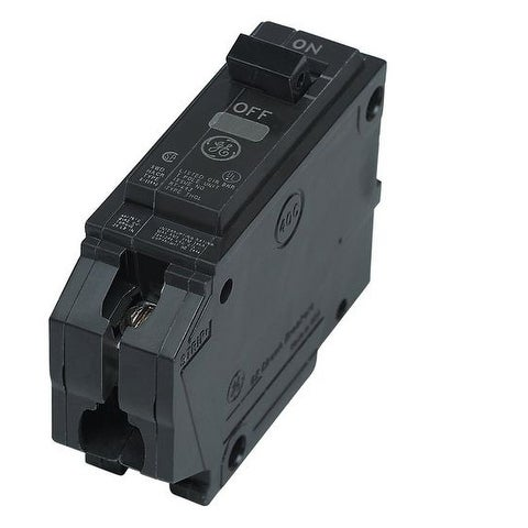 GE THQL1115 Single Pole Circuit Breaker, 15 Amp
