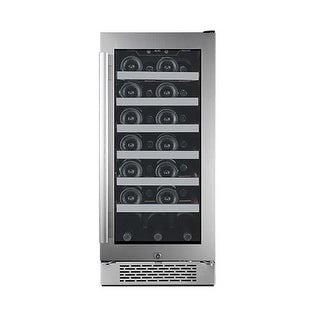 Avallon AWC151SZRH 15 Inch Wide 27 Bottle Capacity Single Zone Wine Cooler with