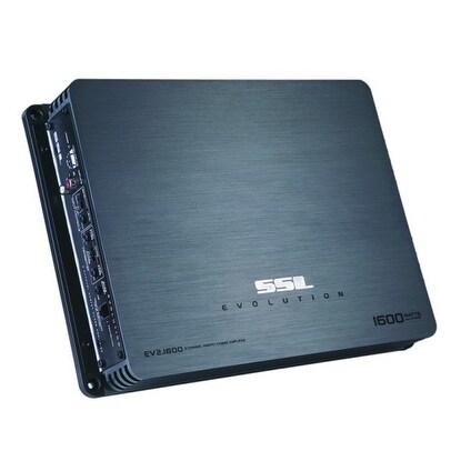 SSL Evolution 1600 Watt 2 Channel Mosfet Amp