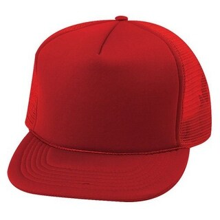 Trucker SUMMER MESH CAP, Red,One Size