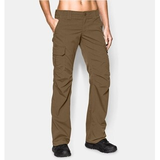 Under Armour Women's Tactical Patrol Pants Size 6 Coyote Brown