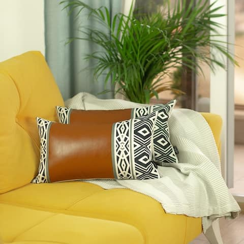 The Curated Nomad Baywood 12x20 Pillow Covers (Set of 2)