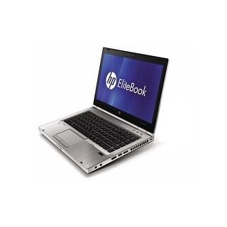 "HP EliteBook 8460p 14.0"" Refurb Laptop - Intel i5 2520M 2nd Gen 2.5 GHz 8GB 160GB SSD DVD-RW Windows 10 Pro - Webcam, Grade B"