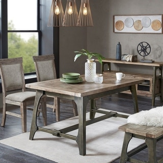 Link to Carbon Loft Chloe Grey Extension Dining Table Similar Items in Dining Room & Bar Furniture