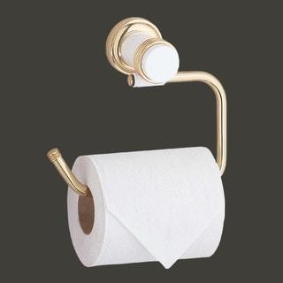 Victorian Toilet Paper Holder Brass Spectrum Tissue Holder