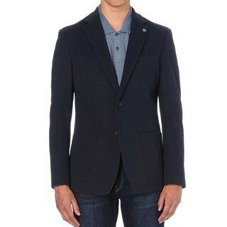 Michael Kors NEW Blue Mens Size 40 Two Button Slim Blazer Jacket