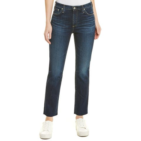 Ag Jeans The Isabelle 9 Years Amendment High-Rise Straight Crop
