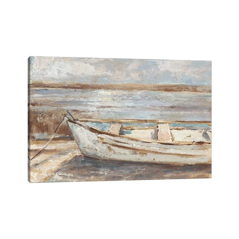 "iCanvas ""Weathered Rowboat II"" by Ethan Harper Canvas Print"