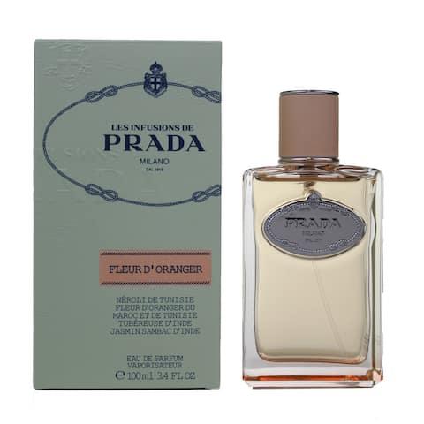 Prada Infusion De Fleur D'Oranger Eau De Parfum for Women 3.4 oz / 100 ml - Spray - Classic Packaging