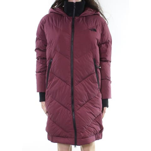 The North Face Womens Jackets Red Size Small S Hooded Water-Repellant