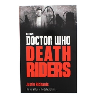 Doctor Who: Death Riders Paperback Book - multi